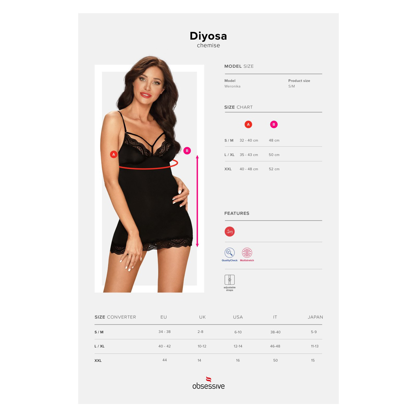 Diyosa Chemise - 7 - Vorschaubild