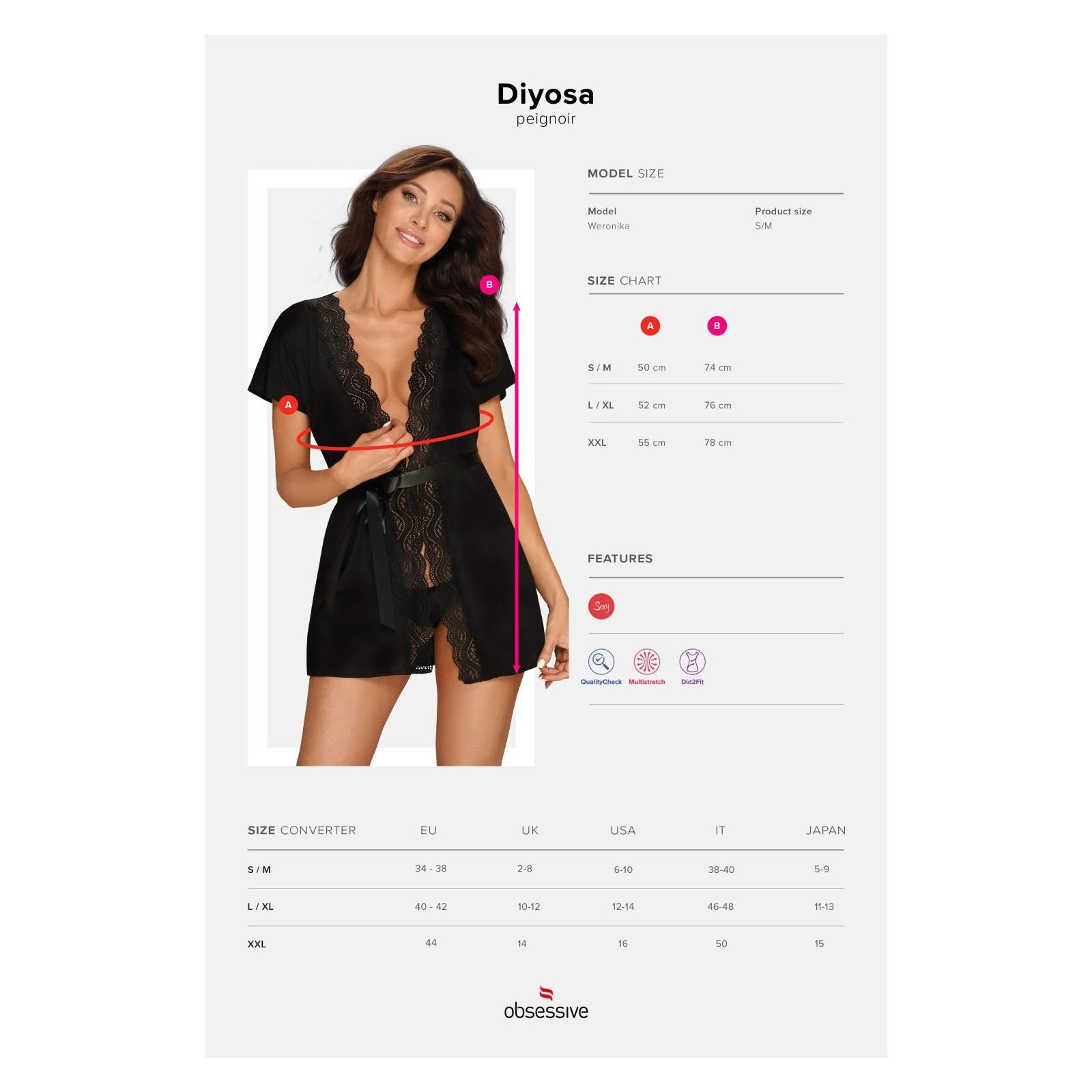 Diyosa Peignoir - 7 - Vorschaubild