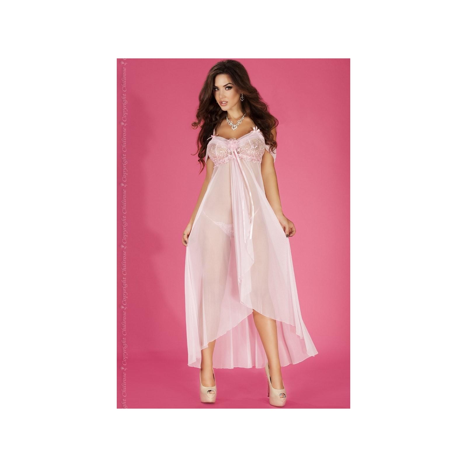 Langes Babydoll CR3716 pink - 1 - Vorschaubild