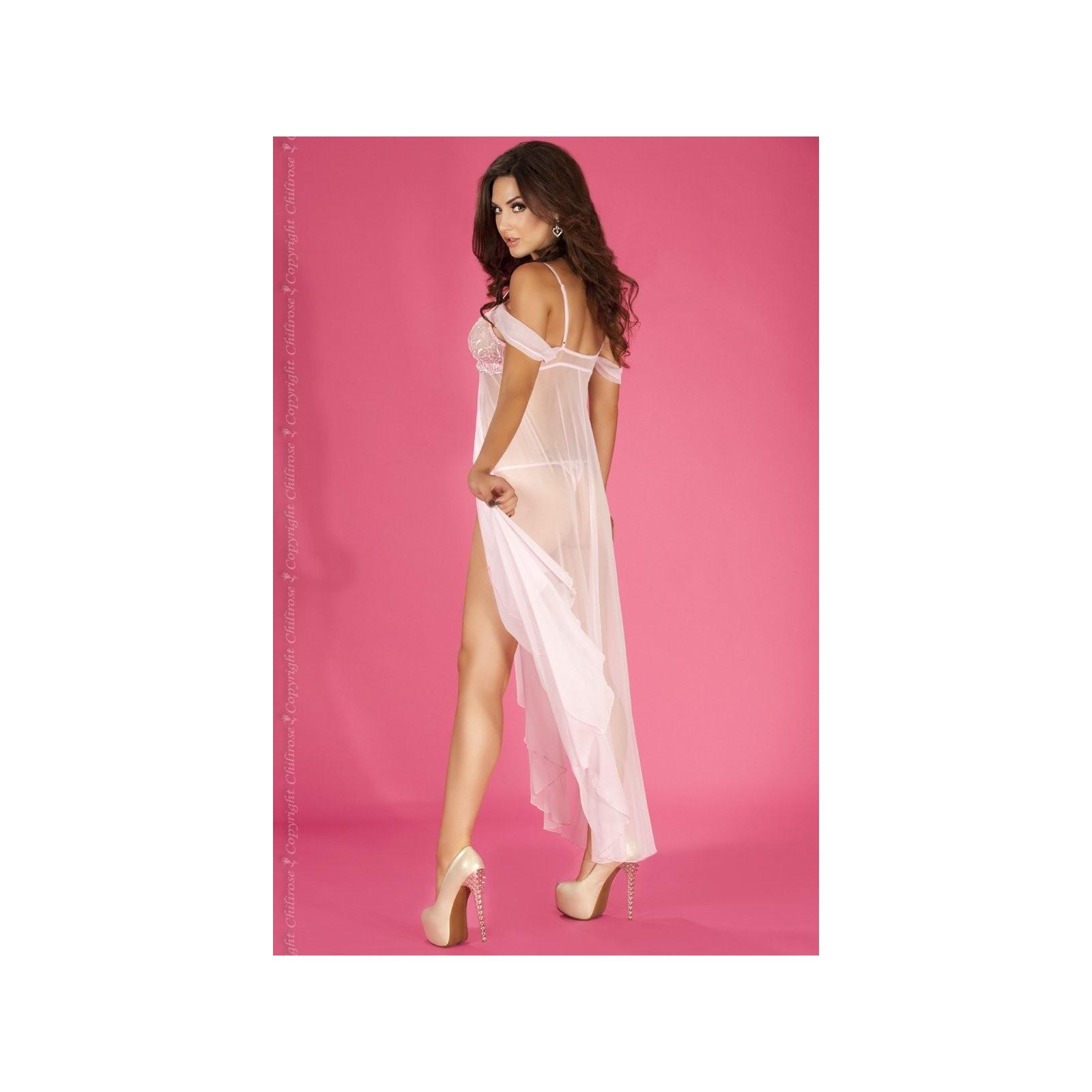 Langes Babydoll CR3716 pink - 2 - Vorschaubild