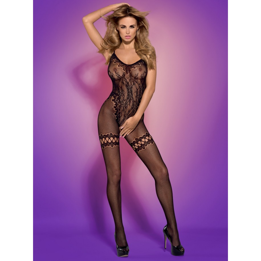 Bodystocking F213 schwarz - 1