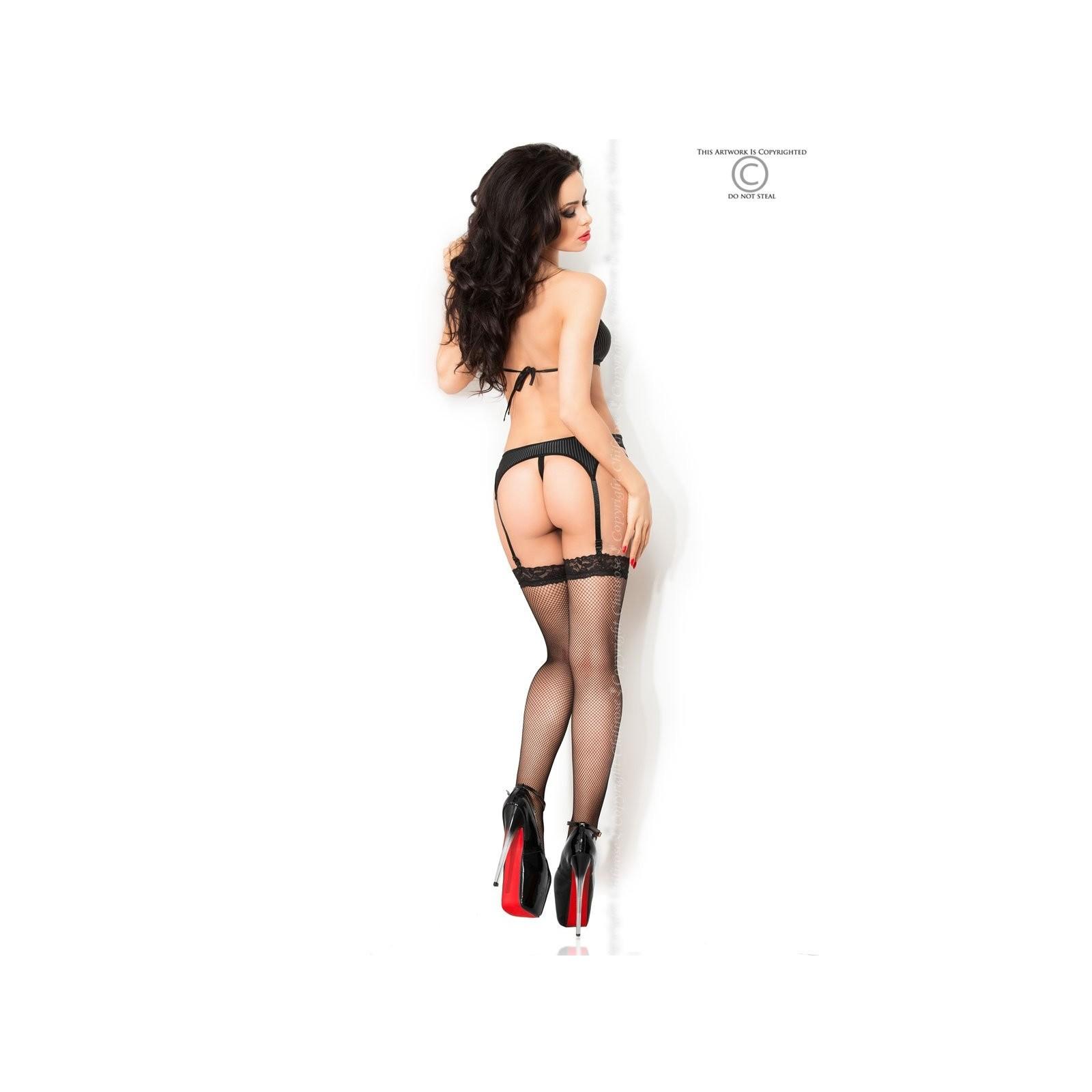 Sexy Corsage CR3795 schwarz - 4 - Vorschaubild