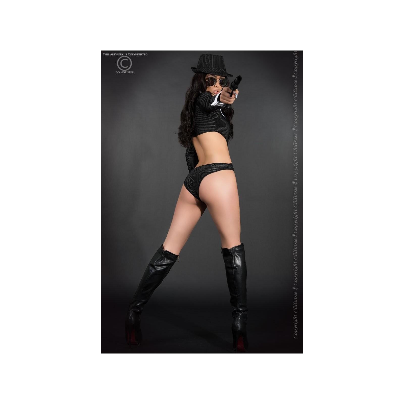 Sexy Gangster Kostüm CR3798 - 4 - Vorschaubild