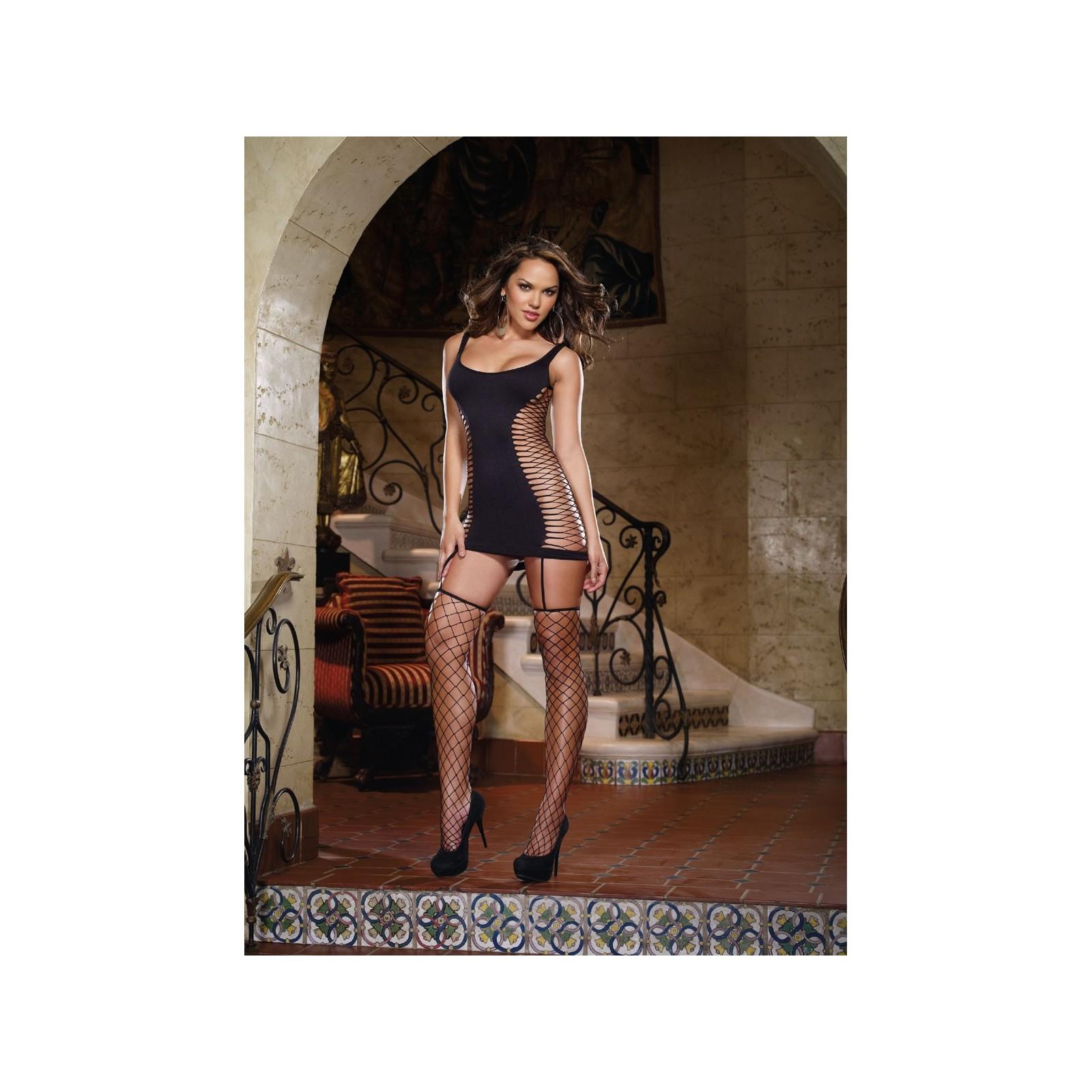Garter Dress DR0102 schwarz - 1 - Vorschaubild