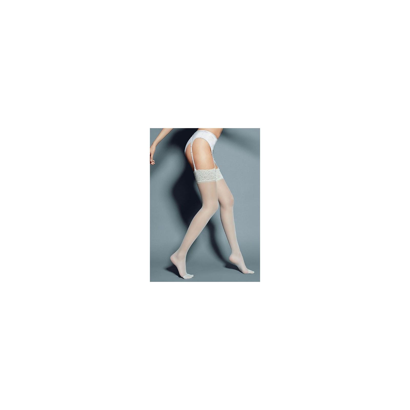 Strapsstrümpfe calze-mary-weiss - 1 - Vorschaubild