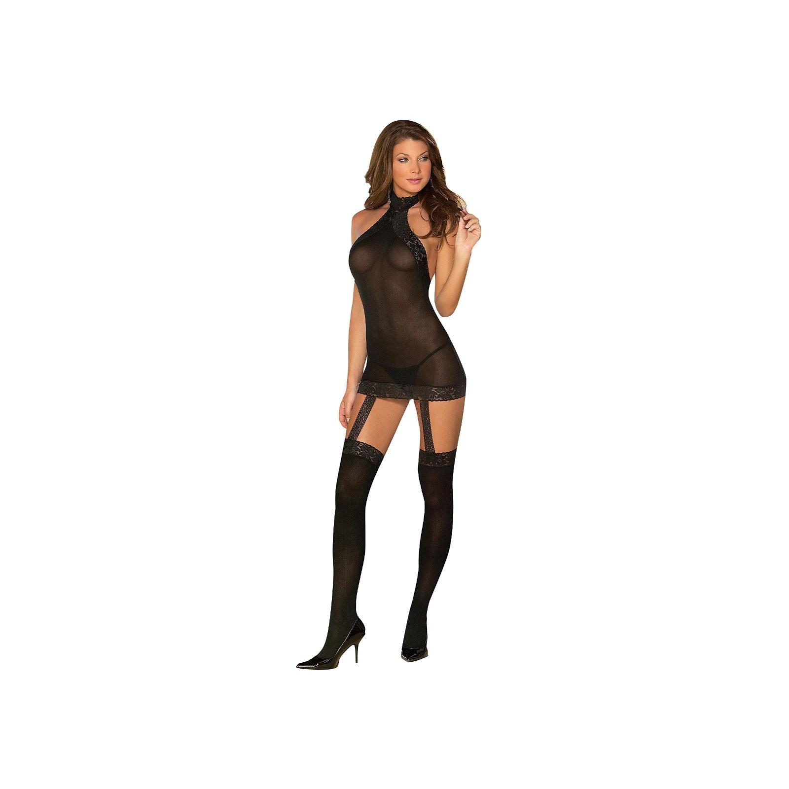 Kleid DR0035 schwarz - 3 - Vorschaubild