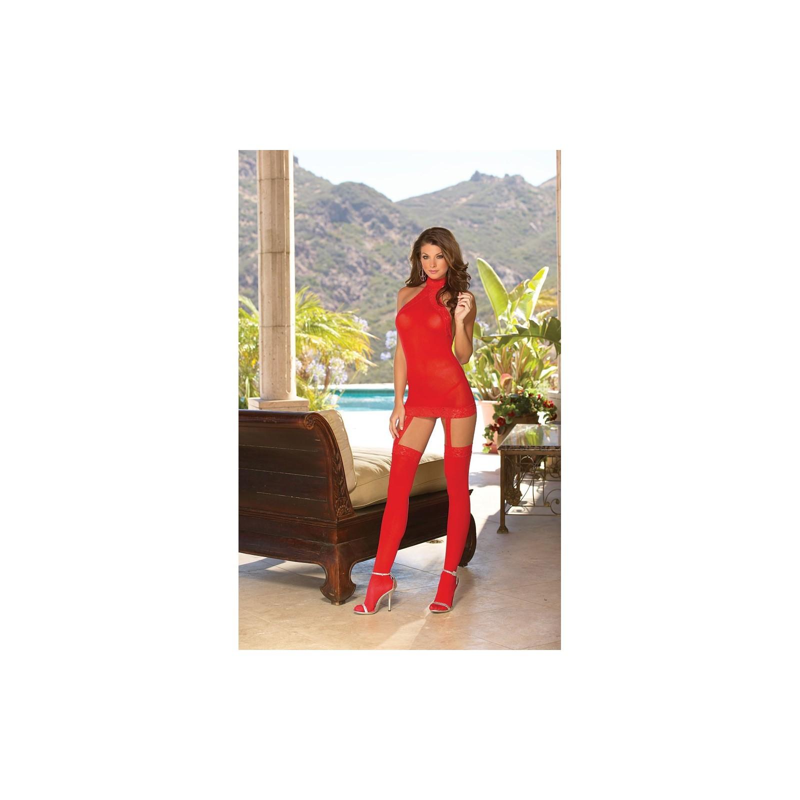 Kleid DR0035 rot - 1 - Vorschaubild