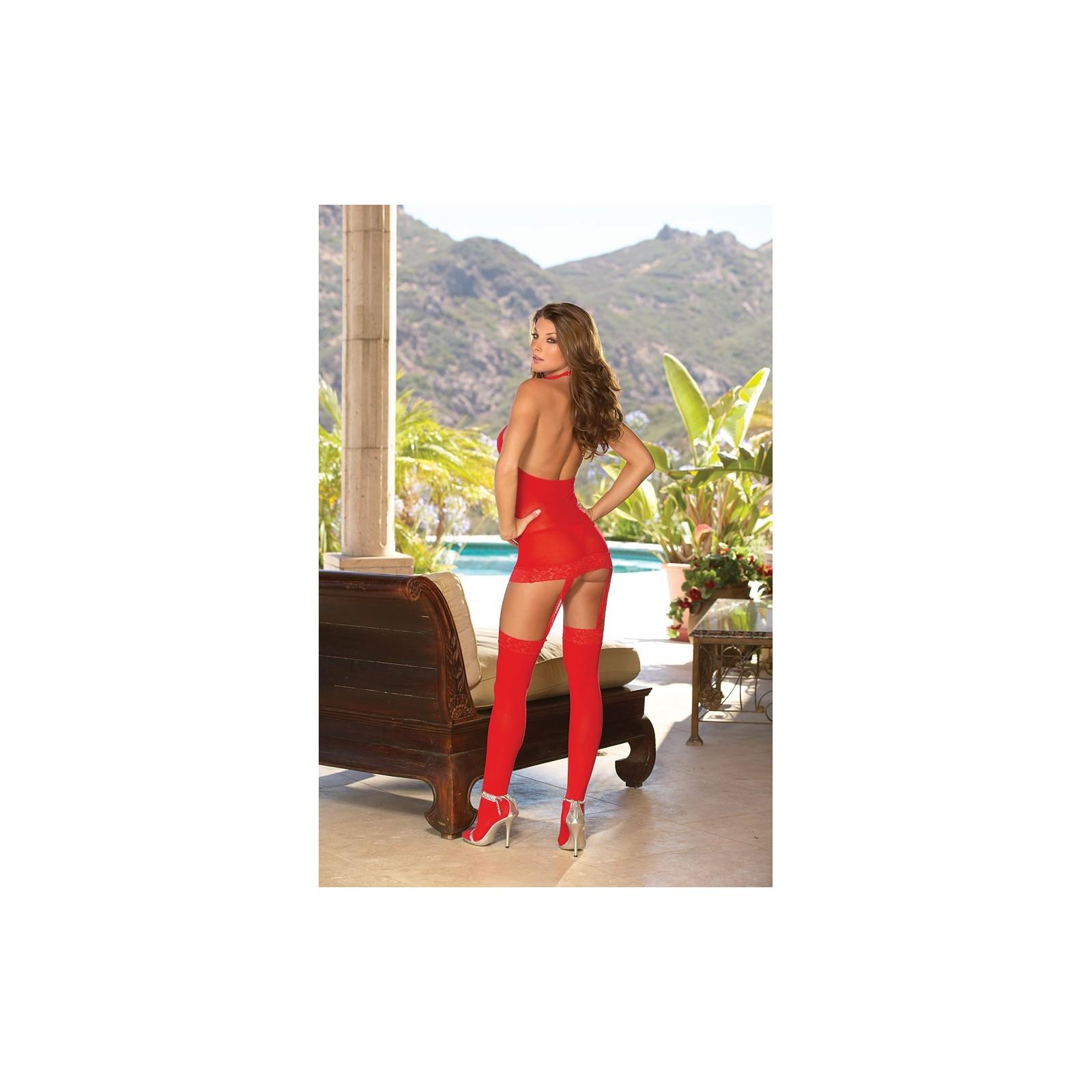 Kleid DR0035 rot - 2 - Vorschaubild