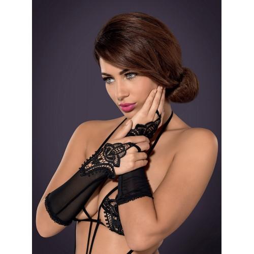 Luiza Handschuhe schwarz - 1