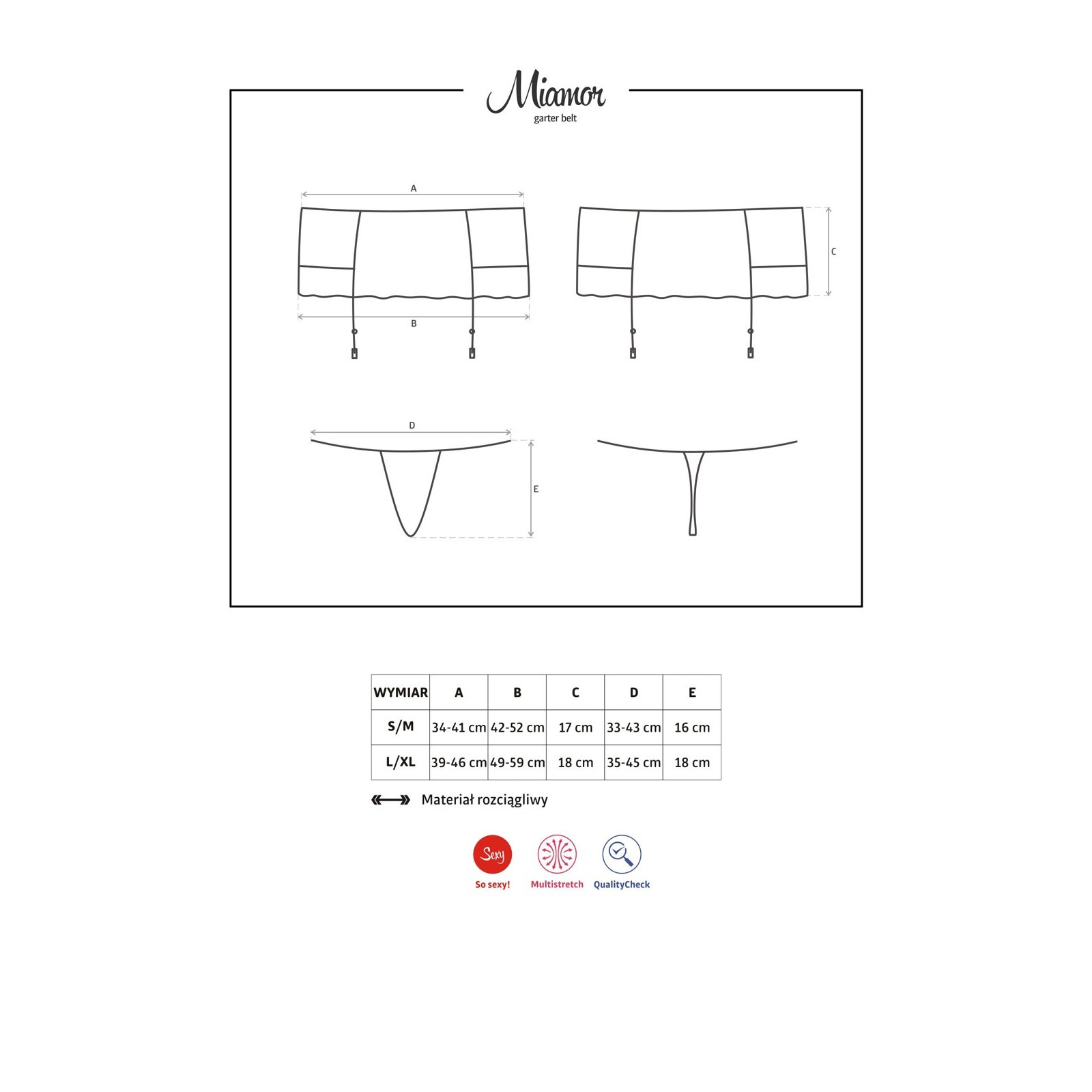 Miamor Garter Belt - 7 - Vorschaubild