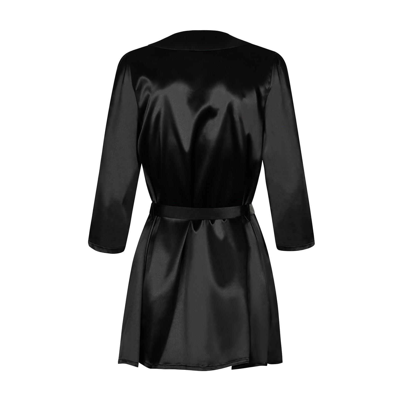 Satinia Robe schwarz - 4 - Vorschaubild