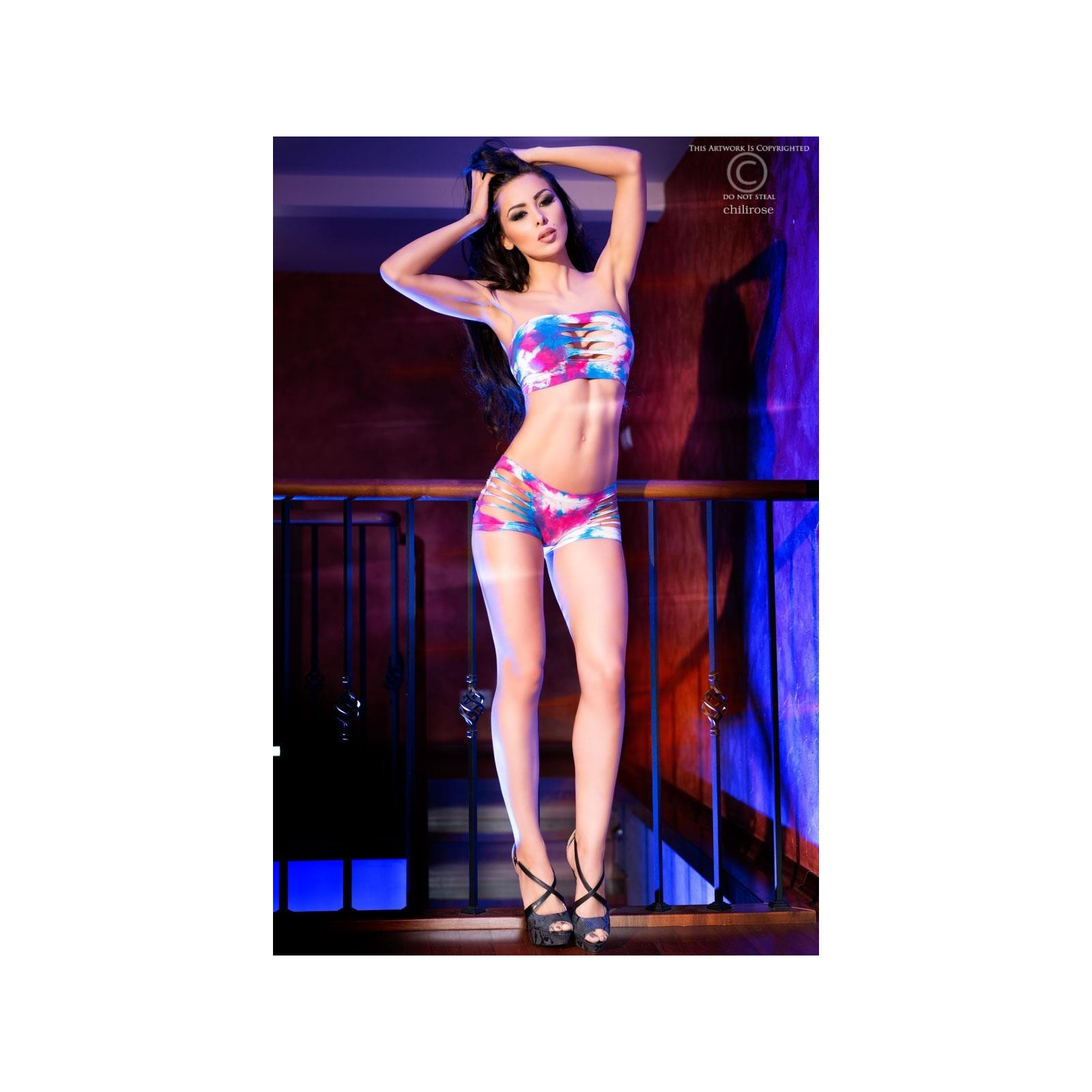 Top + Shorts CR4060 - 1 - Vorschaubild