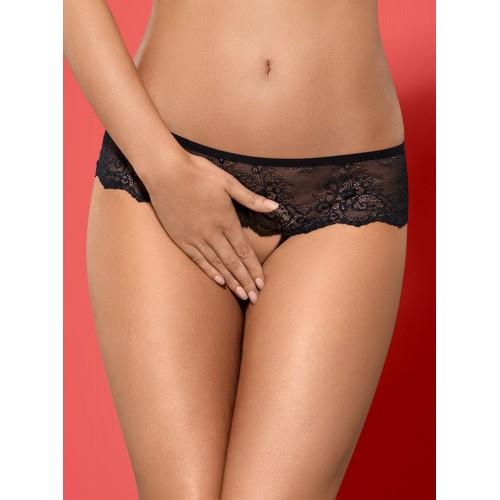 Merossa Crotchless Panties - 1