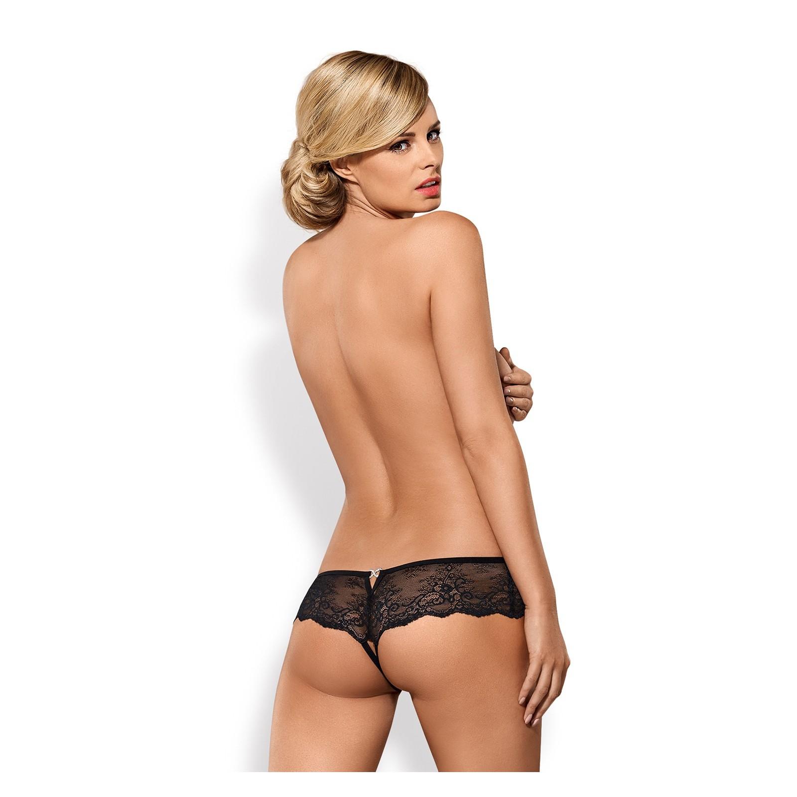 Merossa Crotchless Panties - 6 - Vorschaubild