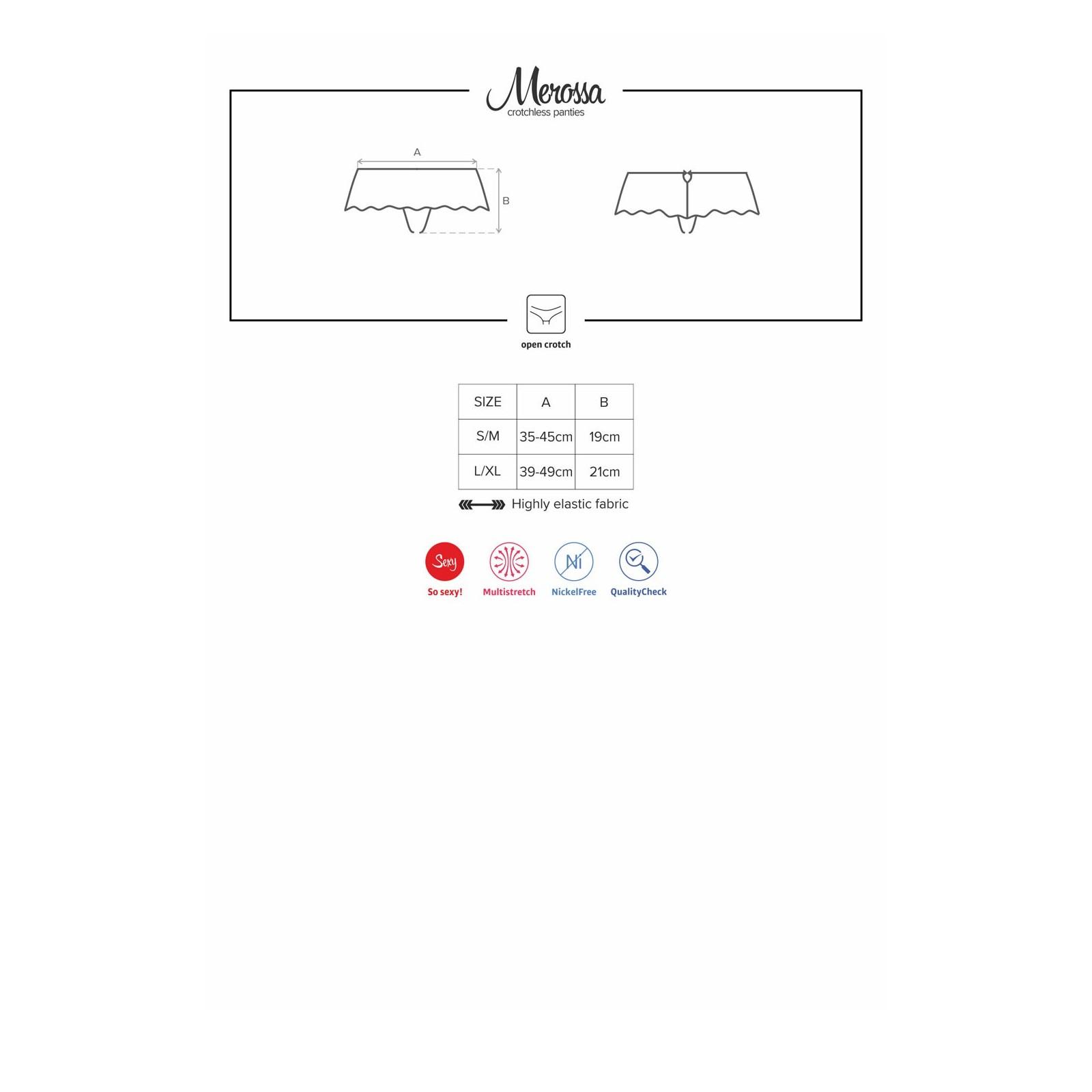 Merossa Crotchless Panties - 9 - Vorschaubild