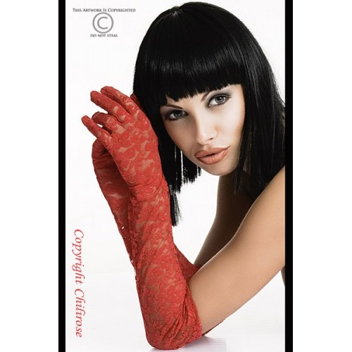 Handschuhe rot CR3071 - 1