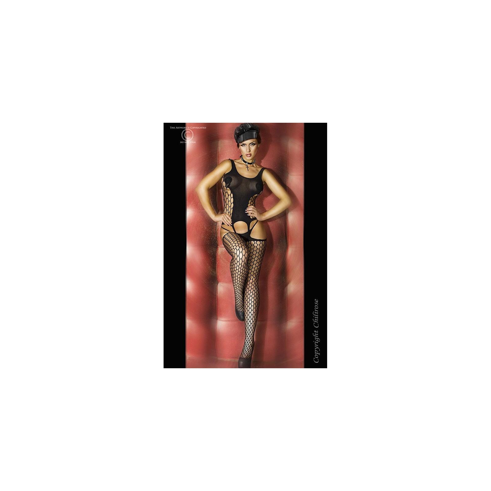Bodystocking CR3282 schwarz - 1 - Vorschaubild