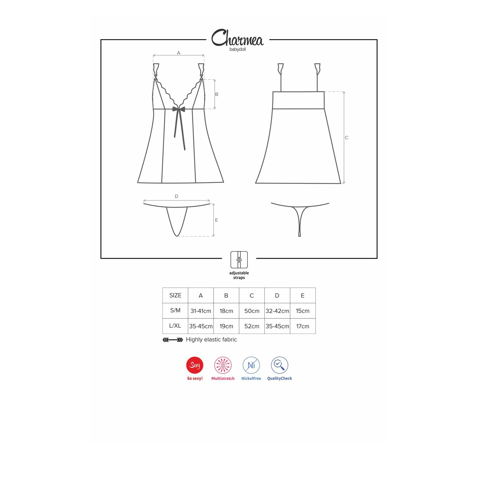 Charmea Babydoll - 7 - Vorschaubild