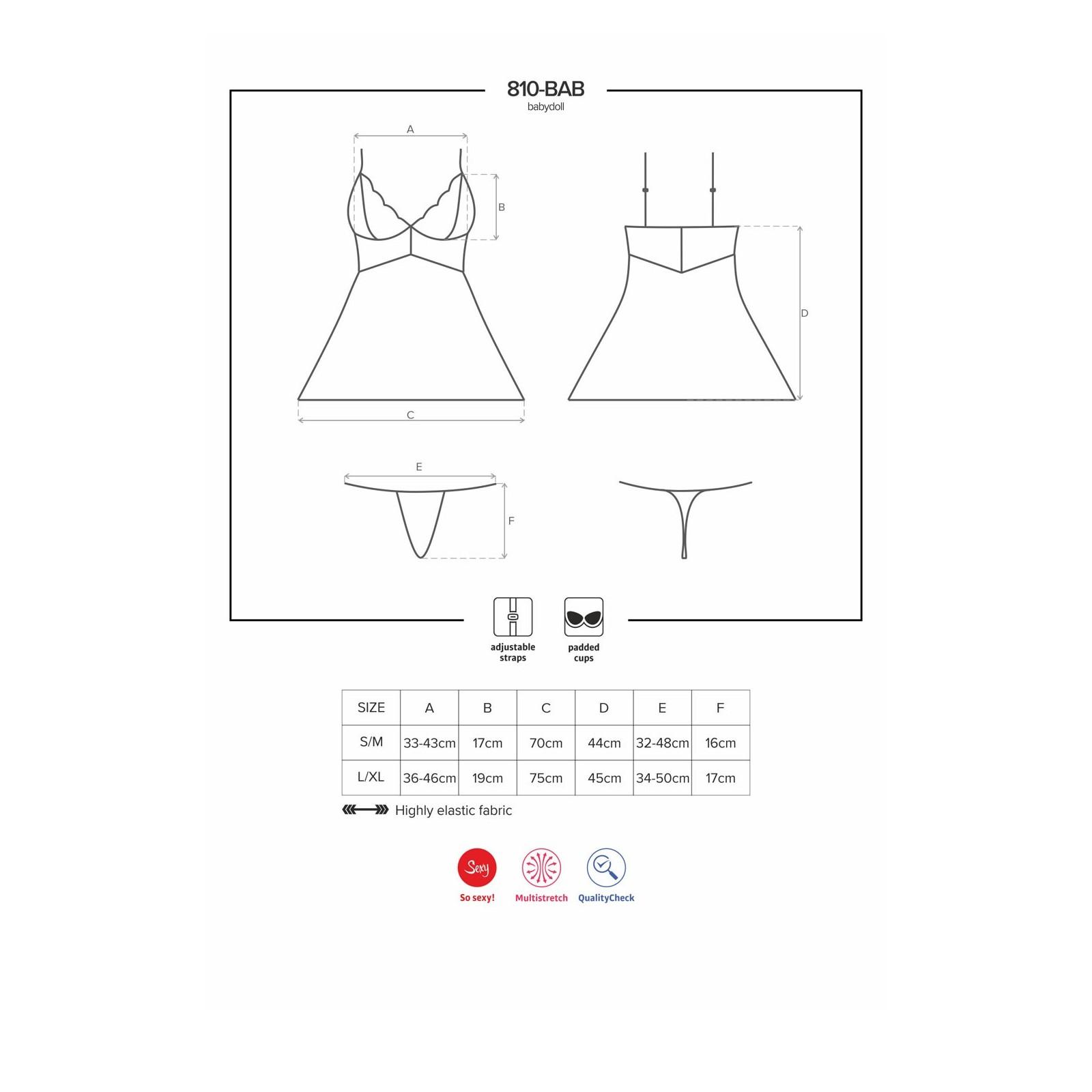 810-BAB-2 Babydoll weiß - 7 - Vorschaubild