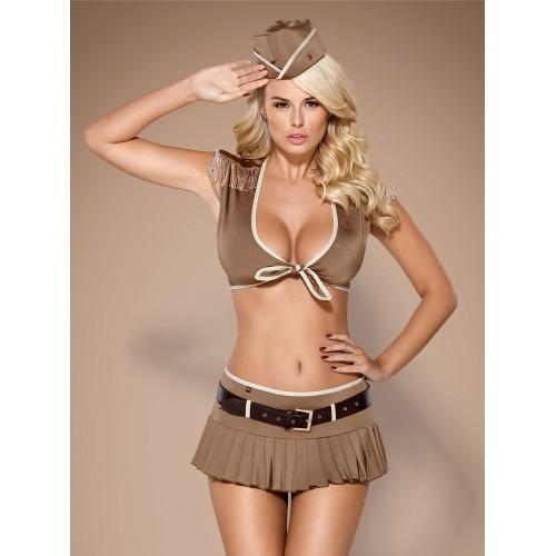 814-CST-4 Soldatin-Kostüm - 1