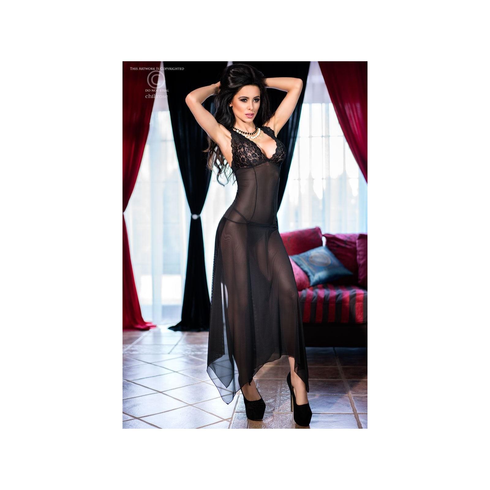 Gown CR4146 schwarz - 1 - Vorschaubild